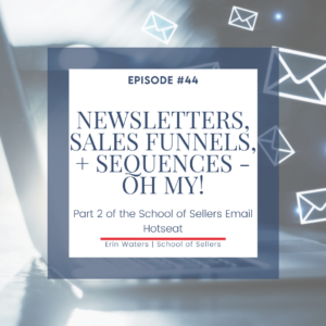 Email Newsletters, Sales Funnels, and Welcome Sequences
